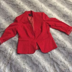 Red Limited blazer size M. Great used condition!